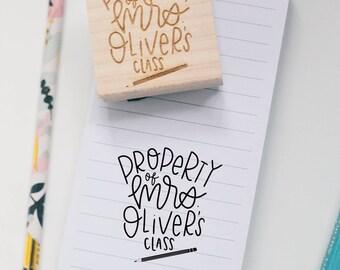 Book & Teacher Stamps