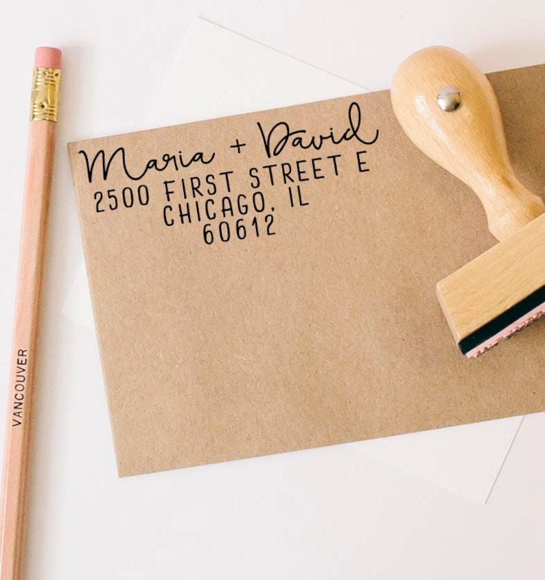Wedding Rubber Stamping.Return Address Stamp Wedding Stamp Save The Date Stamp Return Address Stamp Custom Rubber Stamp Rubber Stamps Calligraphy Stamp
