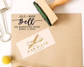 Return Address Stamp, Wedding Calligraphy, Wedding Invitation Stamp, Save the Date Stamp, Personalized Address Stamp, Wedding Gift