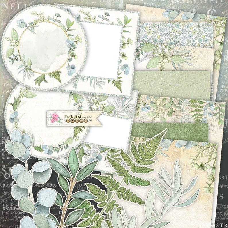 Kolekcja Eukaliptusowa  Materiały do rzemiosła papieru  zdjęcie 0