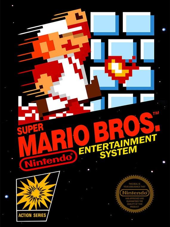 Résultats de recherche d'images pour «Super Mario Bros NES»