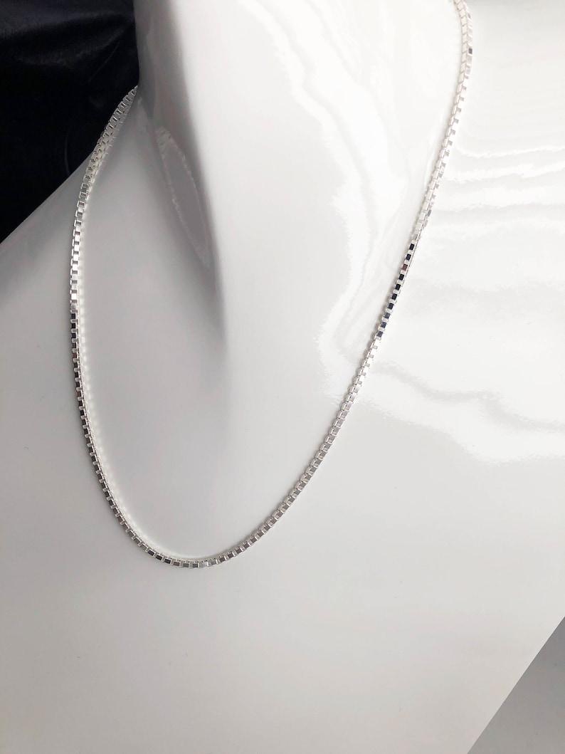 Silver Chunky Box Link Chain