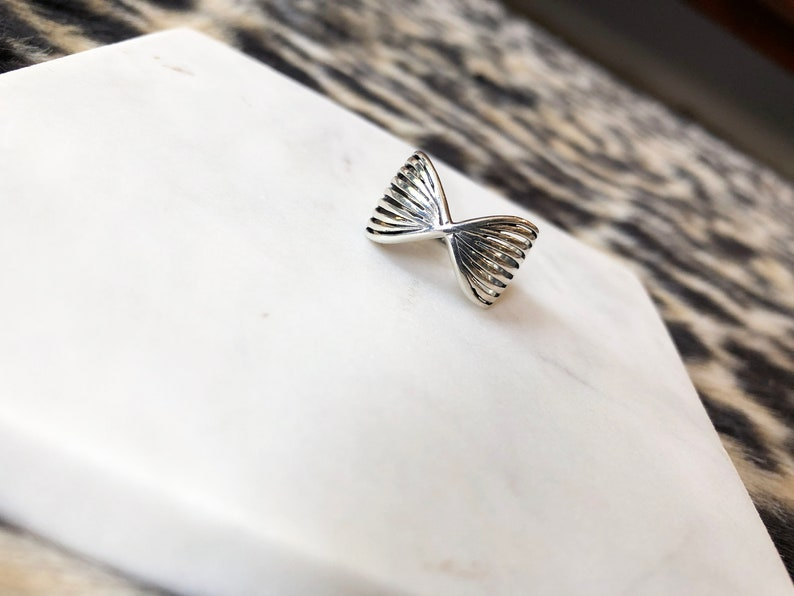 Silver Fan Ring