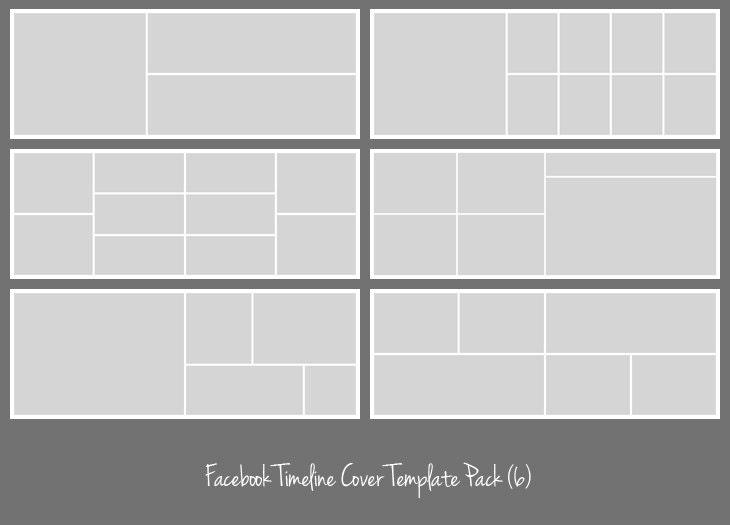 Facebook Timeline Cover Template Pack Photographers Etsy