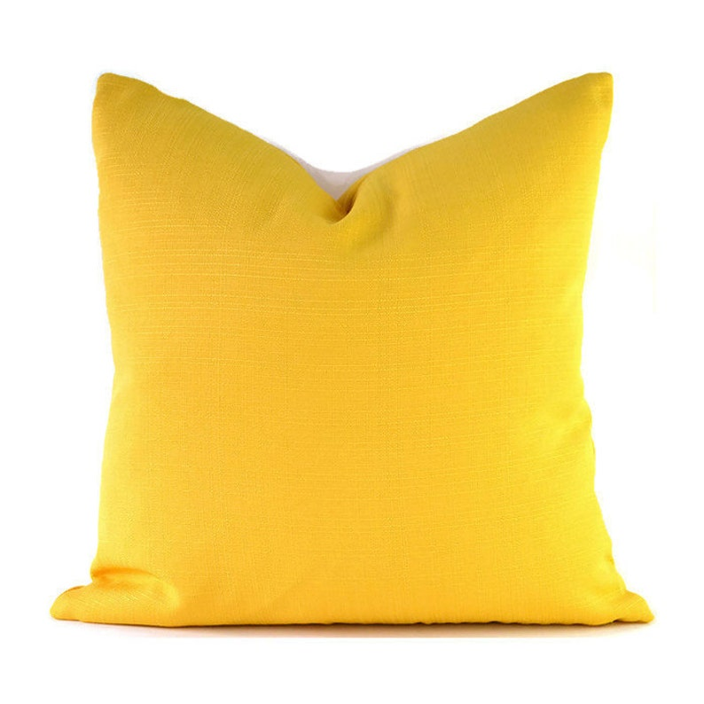 Outdoor Pillow Covers ANY SIZE Decorative  Home Decor Solid image 0
