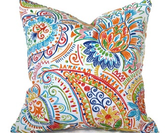CLEARANCE 12x12 Pillow Covers Decorative Home Outdoor Decor Designer Throw Pillow Covers Gilford Festive