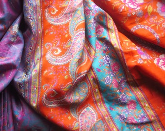 "LOT PURE SILK Vintage Sari TASSELS JOURNAL 50 STRANDS GREEN 3/"" to 4/"" CRAFT NR"
