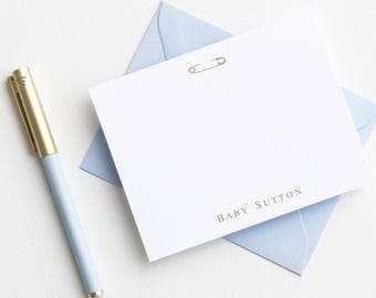 Baby Shower Thank You Cards | Baby Gift Personalized Baby Stationery | Personalized  Baby Stationary | Personalized Baby Thank You Cards |