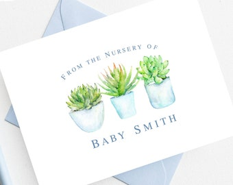 Fox And Bunny Baby Shower Thank You Cards Woodland Baby Etsy