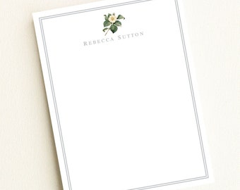 Magnolia Lined Stationery Letter Sheets  Art