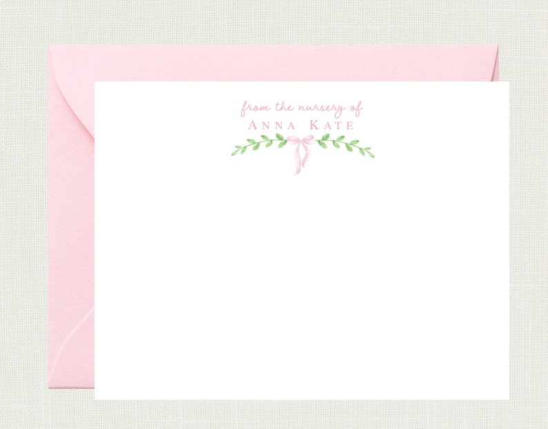 Baby Stationery Baby Thank You Cards for Boys Baby Stationary Baby Boy Gift Personalized Baby Shower Thank You Cards for Girls