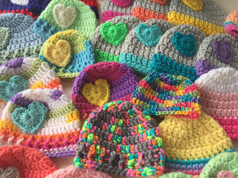 Preemie Hats Bulk NICU Donation Micro Preemie Hats Hospital  104cc2964d0