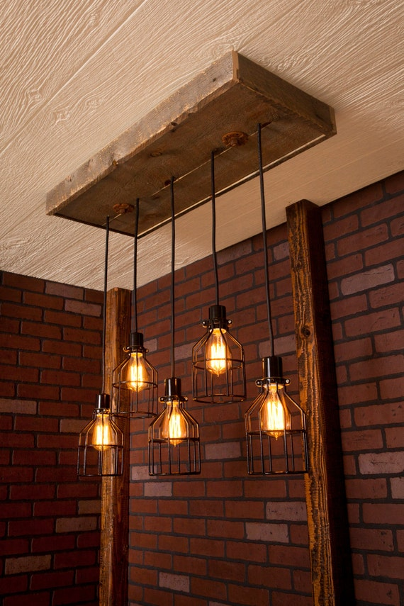 Bdg Style Idaho Project Kitchen: Lighting/ Industrial Lighting Industrial Rustic Chandelier