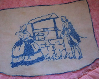 Vintage Hand Embroidery.