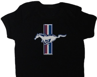 Ford baby clothes infant t-shirt one piece suit mustang trucks decal logo gifts