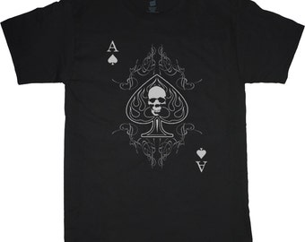 16d25244a6c942 Big and Tall T-shirt / Ace of Spades