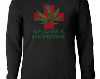Long sleeve T-shirt / Nature's Medicine