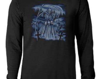 Long sleeve T-shirt / Grim Reaper