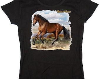 Ladies t-shirt / Quarter Horse