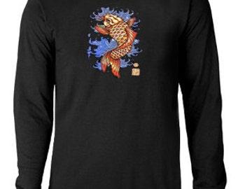 Long sleeve T-shirt / Japanese Koi Fish