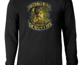 Long sleeve T-shirt / Smoke Cannabis