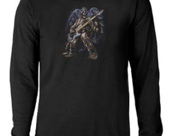 Long sleeve T-shirt / Bass Guitar