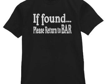If Found Please Return to Bar T-shirt