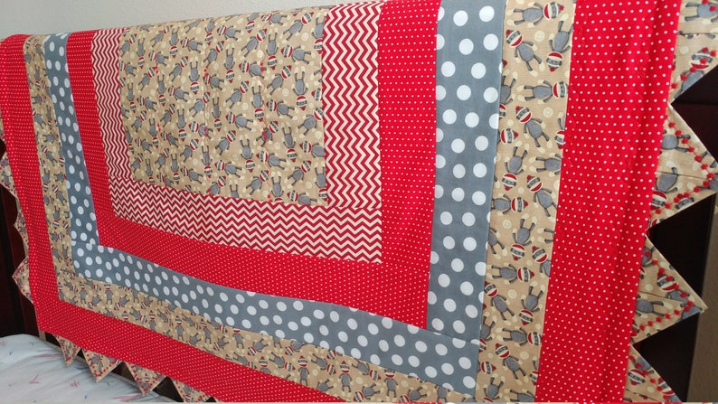 Sock Monkey Quilt Crib Skirt Fitted Crib Sheet And Etsy
