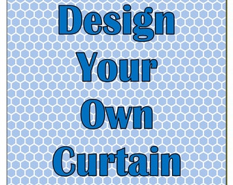 Design Your Own Customized Shower Curtain With NAME COLORS Or MONOGRAM Personalized Designs Made To Pamper Style