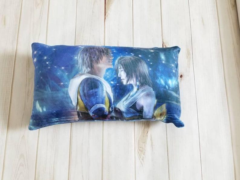 Final FantasyTravel Pillowcase12x18 inchescustom printedpersonalizedgameradult giftff