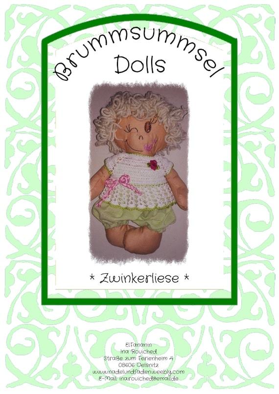 Ähnliche Artikel wie ITH Datei für Brummsummsel-Doll \