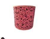 Pink/Black Drum Lamp Shad...