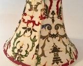 Batik lampshade, bohemian...