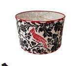 Red Bird Drum Lamp Shade ...