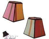 Colorful Lamp Shade: Hexa...