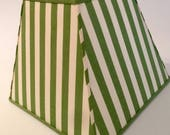 green and white striped l...
