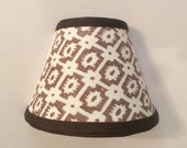brown and white nightlight, brown nightlight, nightlight, housewarming gift, hostess gift