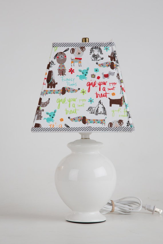 Dog lamp shade shade only gifts for dog lovers dog decor aloadofball Gallery