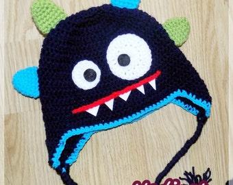 Monster Mütze Häkeln Etsy