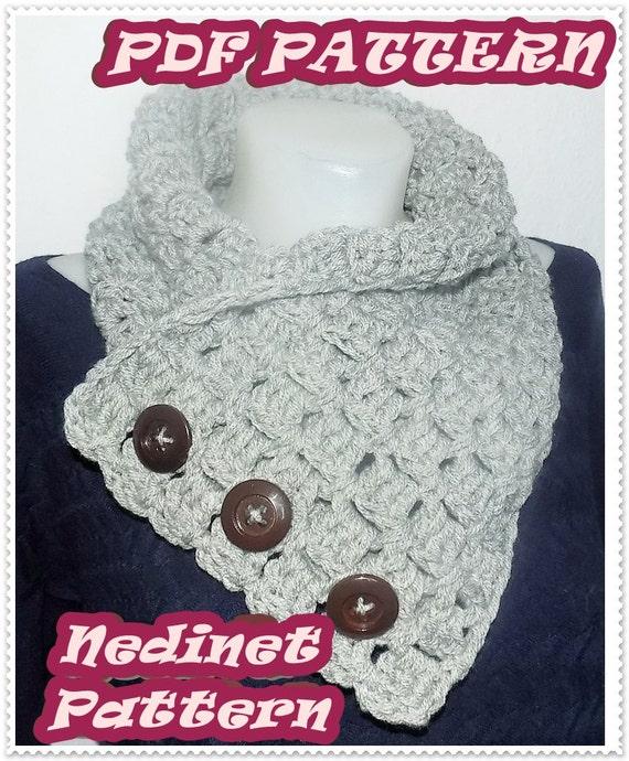 Crochet Scarf Pattern Scarf Crochet Pattern Easy Scarf | Etsy