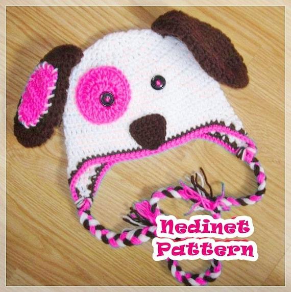 Dog Crochet Hat Pattern Crochet Puppy Crochet Hat Pattern  a6fde81e490