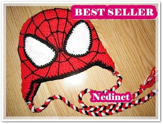 Crochet Hat Pattern Crochet Spiderman Hat Pattern For Beginners