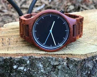 Boyfriend Anniversary Gifts For Men Wooden Watch for men, Wife To Husband Gift for Men Gift Brother Gift Wood watch Engraved Watch Dad Gift