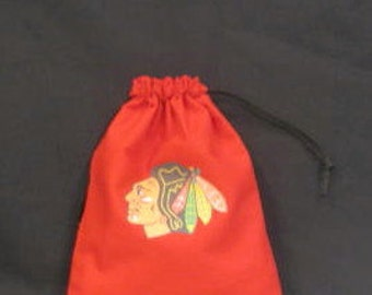 Chicago Blackhawks Birthday Party Favor Bag