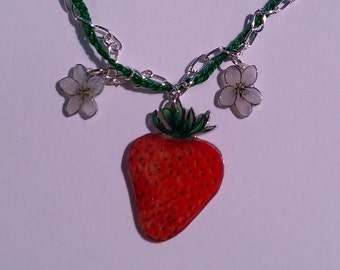 Strawberry Necklace