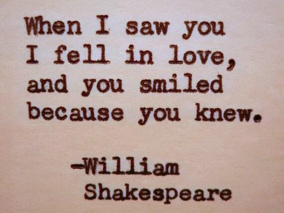 love shakespeare