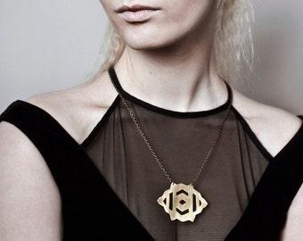 SIGYN necklace - brass