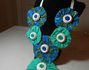 Yo-Yo Bloom Lei Necklace