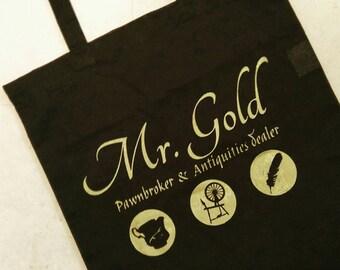 Mr Gold Pawnbroker, Mr Gold Bag, Rumpelstiltskin, Once Upon A Time, OUAT, Once, OUAT Bag, Tote Bag, Occult Accessory