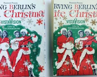 White Christmas Luminary, Vintage Christmas Decoration, Christmas Music, Christmas Luminary, White Christmas, Holiday Inn